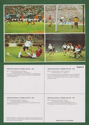 Argentina Austria England Holland Spain West Germany 9 UNCUT Butcher